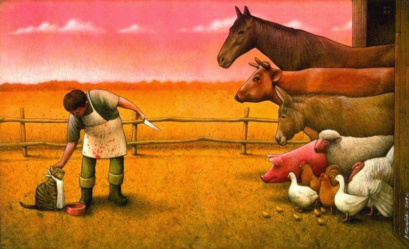 Multi-faceted and interesting illustrations by Paul Kuczynski