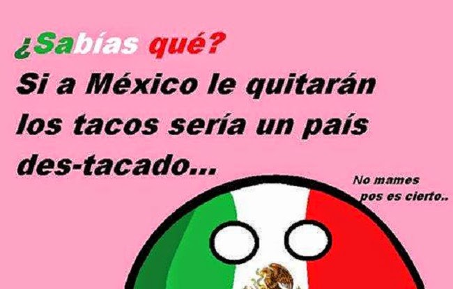 Sabes que si a México le...