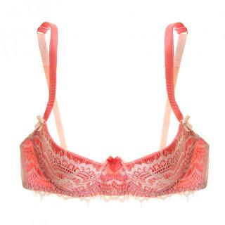 red lace bra