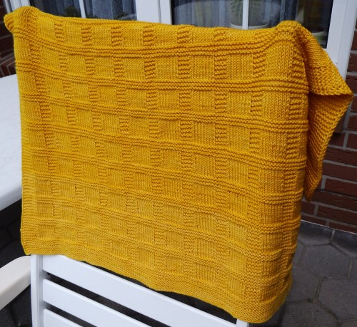 Sunny Baby Blanket - Free Pattern