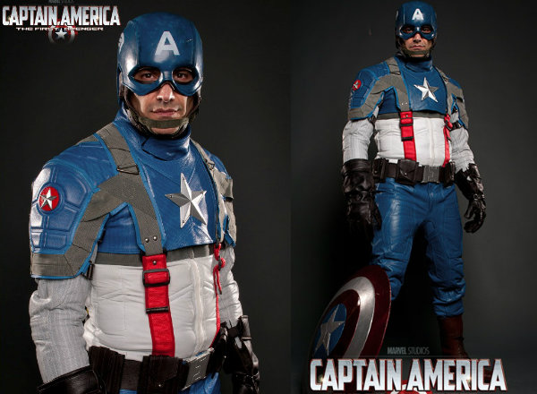 Creative Captain America Motorcycle Suit Spicytec