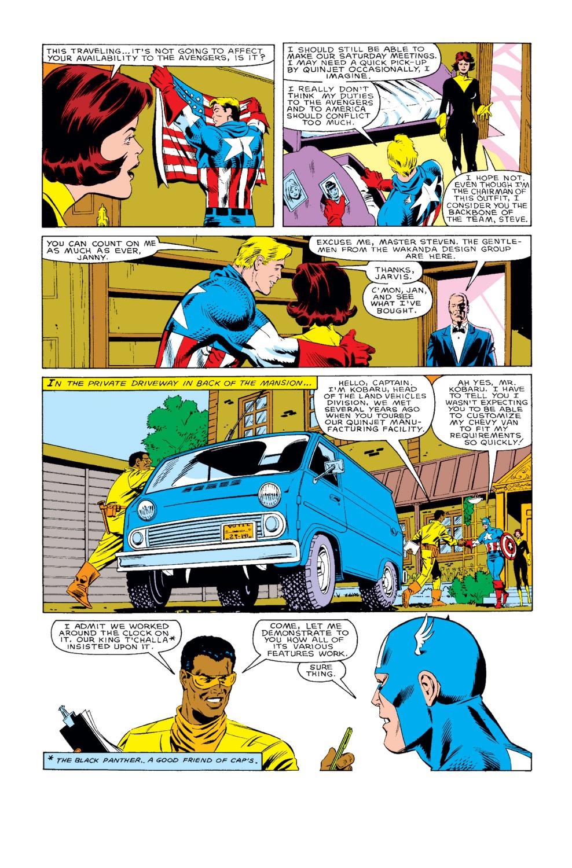 Captain America (1968) Issue #318 #246 - English 7