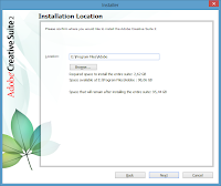 Windows 8. Adobe CS2 installation - Location - this is where your application is going to live