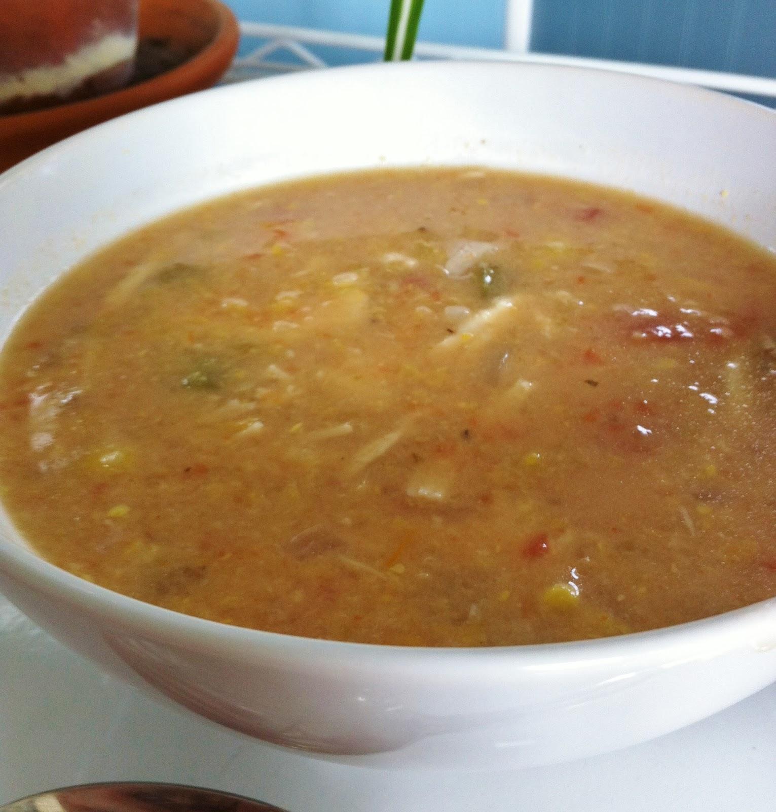 The Art of Comfort Baking: Crock Pot Chicken Tortilla Soup
