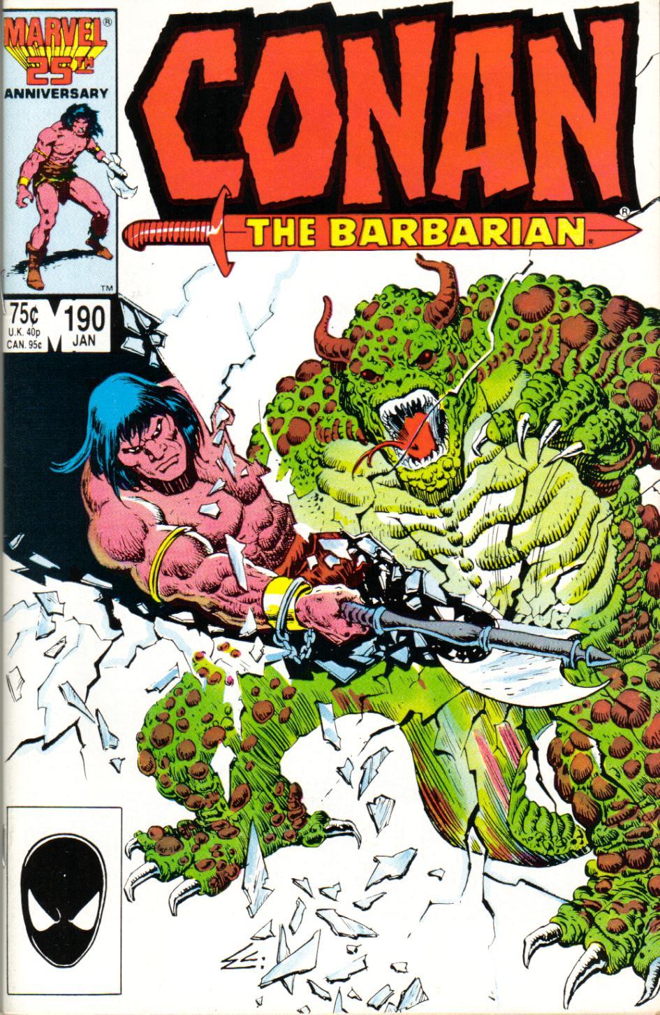 Conan the Barbarian (1970) Issue #190 #202 - English 1