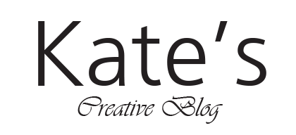 Kate's creative blog