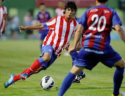 Oliver Torres, canterano del Atlético de Madrid