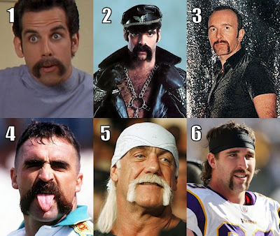 Famous men with porn staches
