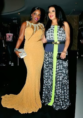 Empress Njamah and Monalisa Chinda at Nollywood Movies awards 2013