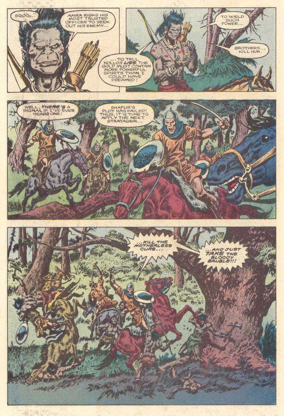 Conan the Barbarian (1970) Issue #183 #195 - English 13