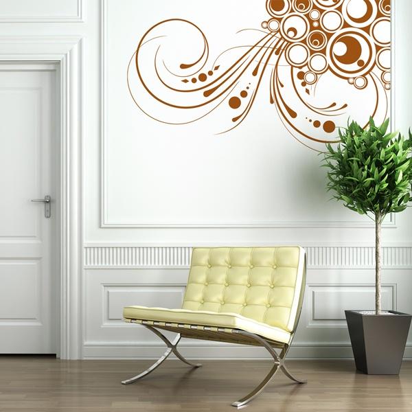 Papel pintado vinilos decorativos florales - Papel pintado vinilo ...