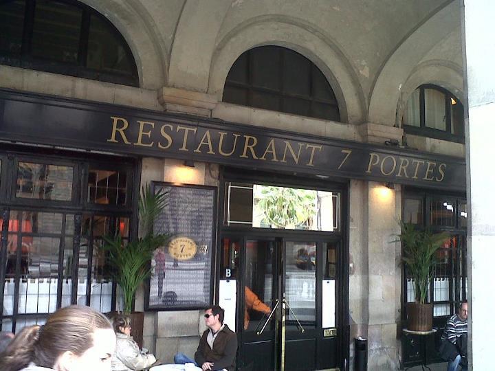 Bon app tit d abril 2012 for 7 portes barcelona menu