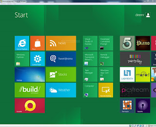 Tema Windows 8  untuk Windows Vista dan XP