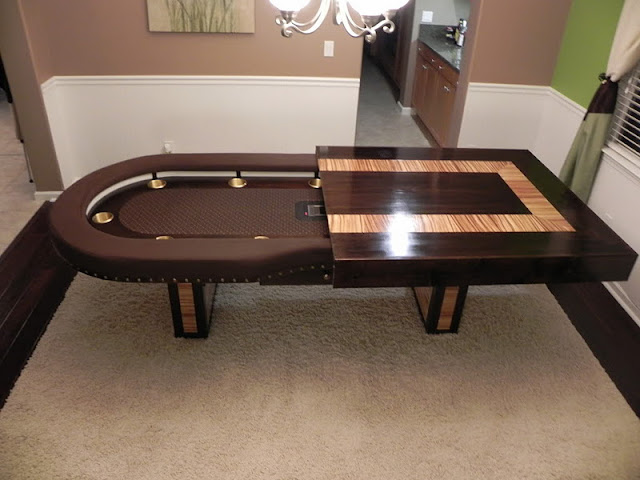 World of mysteries luxury poker dining table for World best dining tables