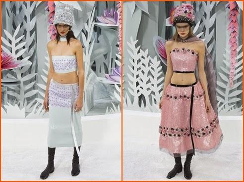 Chanel Frühjahr/Sommer 2015 Haute Couture Kollektion