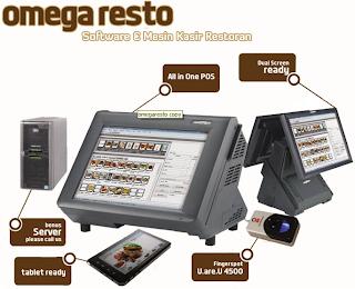 Software Omega POS untuk restoran