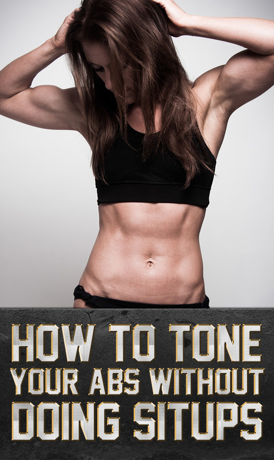 How To Tone Your Abs Without Doing Situps