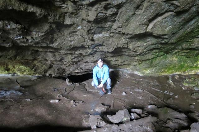 Вход во второй грот Кургазакской пещеры