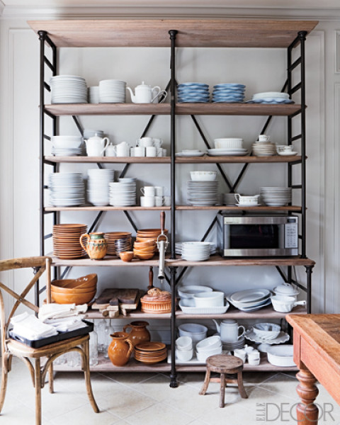 Open Shelving In The Kitchen: Baker's Racks Done Right
