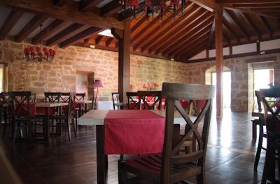 Comedor principal Casa Rural Osante