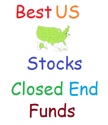 Top US Stock Closed End Funds