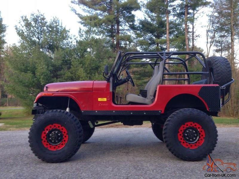 Modifikasi Mobil Jeep CJ-7 Tahun 76