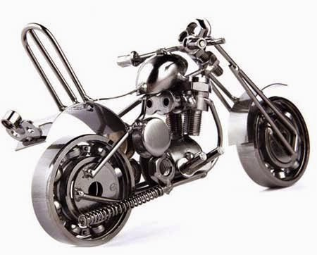 gambar motor unik dari bearing
