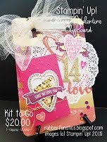 NEW! Valentine Altered Clipboard