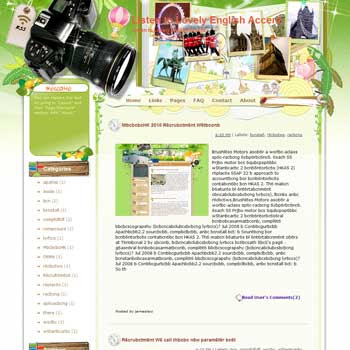 Listen to Lovely English Accent Blogger Template. free download template blogspot