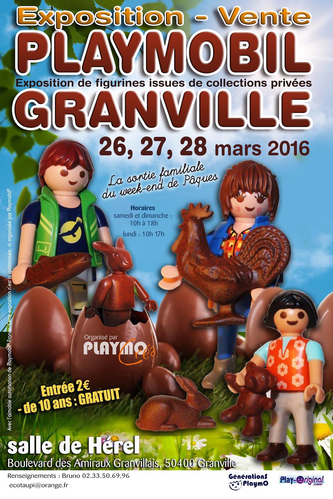 Expo-Vente Granville, 26,27,28 mars 2016