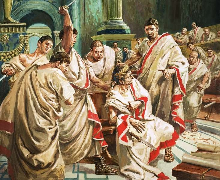 an analysis of the assassination of julius caesar in roman history The assassination of julius caesar is definitely among the most famous assassinations in history julius caesar, originally an army general, rose to a position of unparalleled power and wealth after assuming control of the roman government during caesar's civil war caesar was instrumental in the .