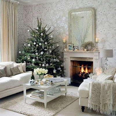 Vintage Christmas Tree Decorating Ideas for 2012