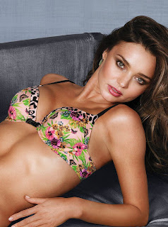 Miranda Kerr Victoria's Secret Lingerie Photoshoot December 2012