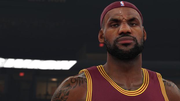 LeBron James NBA 2K15 Screenshot
