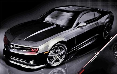 Camaro – Motor V8 com 406cv