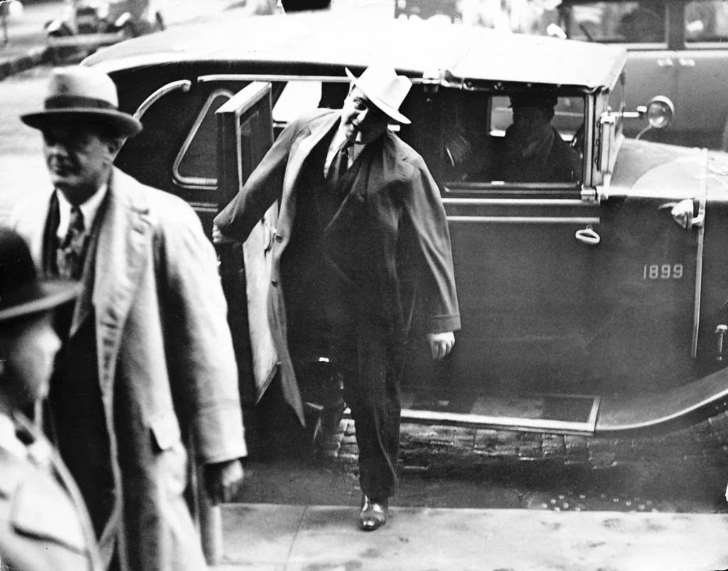 al capone essay al capone cigar and attorney michael ahern as they arrived at the federal building