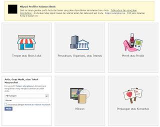 Cara Migrasi Profil Facebook Menjadi Page Facebook