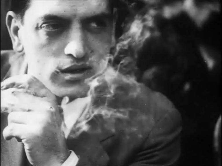 Doctor Ojiplático. Montparnasse. (1929). Eugène Deslaw. Sinfonía Urbana | City Symphony