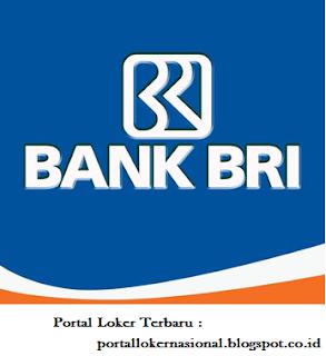 Lowongan Kerja PT. BANK BRI