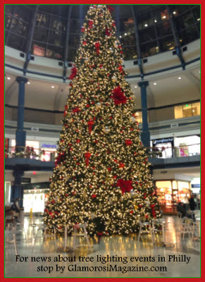 Christmas Tree at The Shops at Liberty Place in Philadelphia
