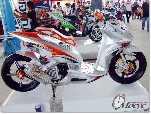 Modifikasi Yamaha Xeon RC 125 Terbaru 2013
