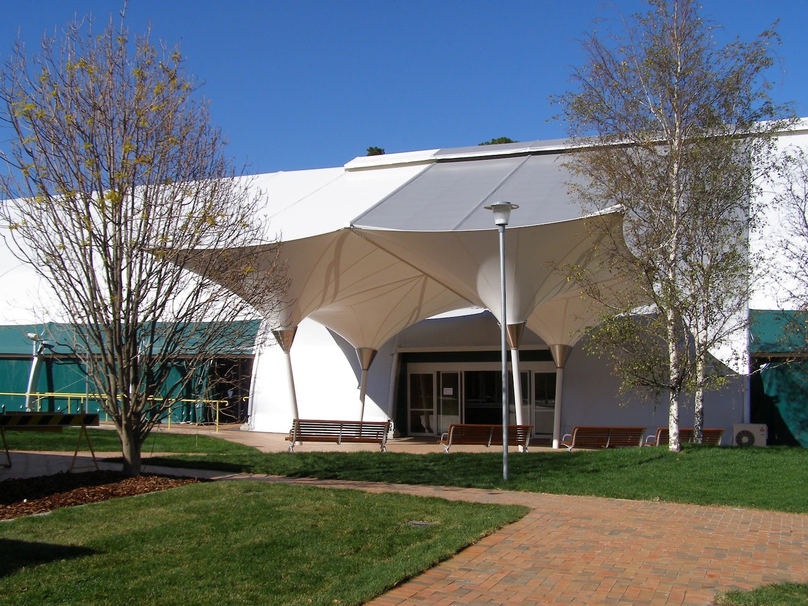Pvc Hdpe Shade Structure