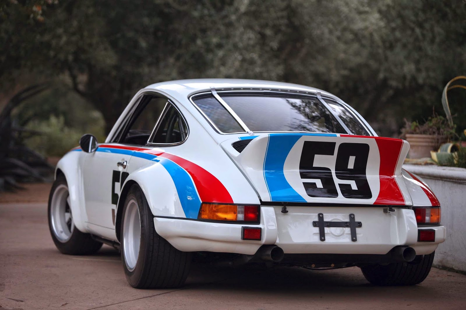 scootermcrad 39 s whatchaworks back to porsches the 1973 rsr. Black Bedroom Furniture Sets. Home Design Ideas