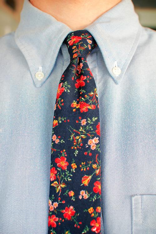 MANtoMEASURE: Floral prints for men