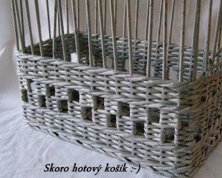 Sensitividad tecnicas cesteria en papel de periodico - Hacer cestas con papel de periodico ...
