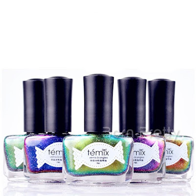 Témix Peel-off Water Based Chameleon Nail Polish