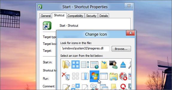 إظهار قائمة Start بتصميمك الخاص لويندوز 8