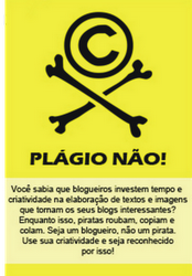 Seja um blogueiro, não um pirata!!!
