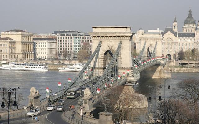 Bridge in Budapest