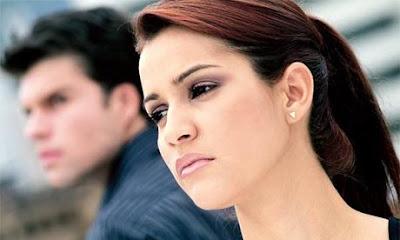 علامات تدل على قرب انتهاء العلاقة بينك وبين حبيبك - رجل وامرأة يكرهان بعض - man and woman hate each other